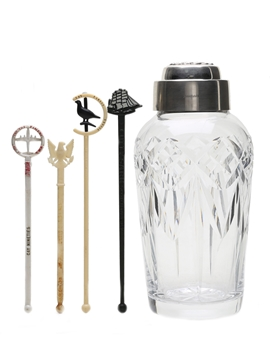 Waterford Crystal Cocktail Shaker