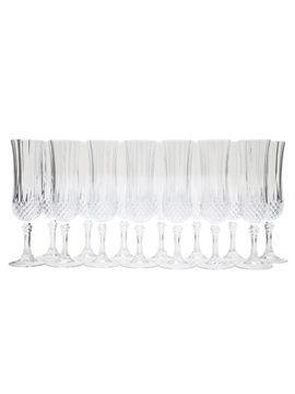 Crystal Flute Glasses Set