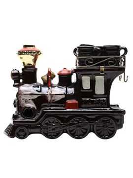 Whisky Train Ceramic Decanter