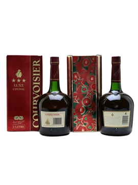 Courvoisier 3 Star & VS Old Presentation 2 x 100cl / 40%