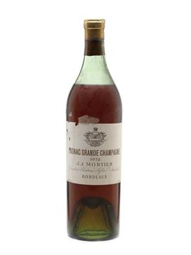 JJ Mortier 1872 Grande Champagne Cognac