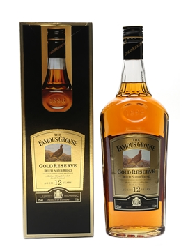 Famous Grouse Gold Reserve 12 Year Old 100cl / 40%