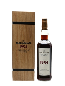 Macallan 1954 Fine & Rare