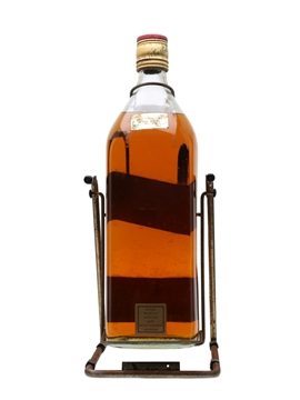 Johnnie Walker Red Label Bottled 1980s - Large Format With Cradle 375cl / 40%