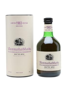 Bunnahabhain 1963