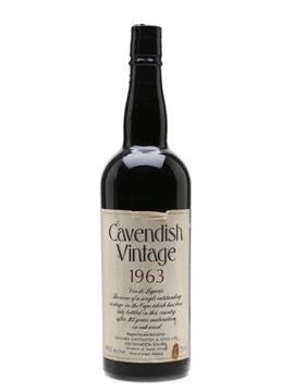 Cavendish Vintage 1963