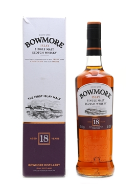 Bowmore 18 Year Old  70cl / 43%