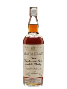 Macallan 1957 Campbell, Hope & King Bottled 1970s 75cl / 46%