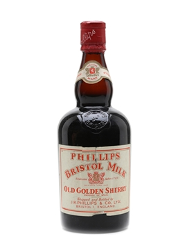Phillips Bristol Milk Old Golden Sherry