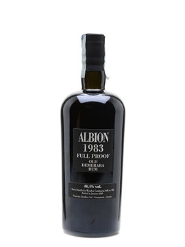 Albion 1983 Full Proof Demerara Rum