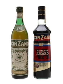 Cinzano Extra Dry & Vermouth Amaro