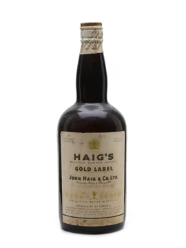 Haig Gold Label Spring Cap