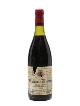 Jean Grivot - Chambolle Musigny 1988
