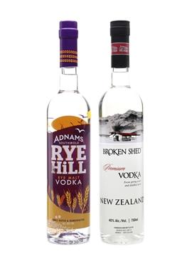 Adnams Rye Hill & Broken Shed Vodka