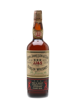 John Jameson & Son 7 Year Old 3 Star