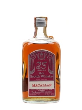 Macallan 25 Year Old Silver Jubilee
