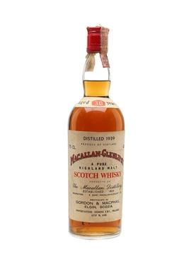 Macallan Glenlivet 1939