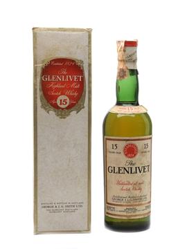 Glenlivet 15 Year Old