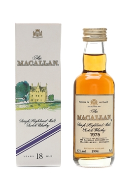 Macallan 1975 18 Year Old 5cl / 43%