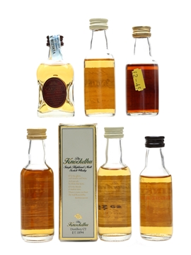 Cardhu, Cragganmore, Glenrothes, Glendronach, Knockdhu & Linkwood 12 Year Old 6 x 5cl