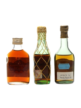 Jamaica Rum, Sobarano & Terry Rum & Brandy 3 x 5cl