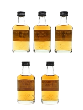 Highland Park Sample Selection 12, 15, 16, 25 & 30 Year Old 5 x 5cl
