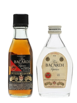 Bacardi Ron Superior  2 x 5cl
