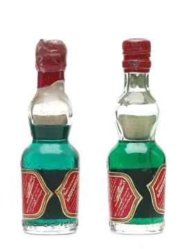 Get Pippermint Liqueur Bottled 1950s 2 x 5cl / 27%