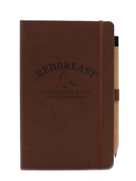 Redbreast Irish Whiskey Notepad & Pencil