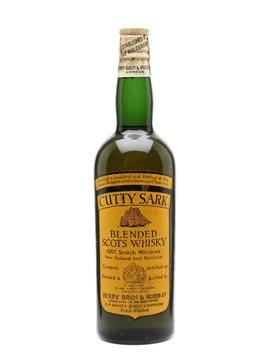 Cutty Sark Bottled 1960s - Berry Bros & Rudd 75.7cl