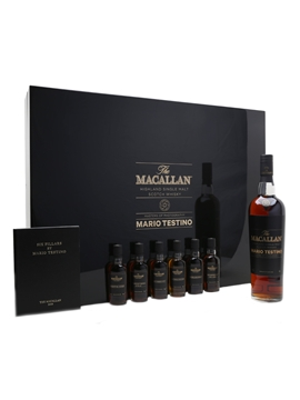 Macallan Masters Of Photography Mario Testino - Purple 70cl & 6 x 5cl