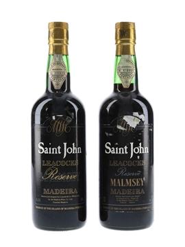 Saint John Reserve Malmsey Madeira