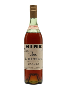 Hine 1914 Grande Champagne Cognac