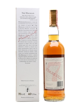 Macallan 7 Year Old Bottled 1990s-2000s - Giovinetti 70cl / 40%