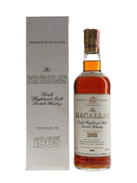Macallan 1965 Bottled 1984 - Rinaldi 75cl / 43%