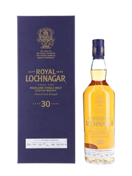 Royal Lochnagar 1988 30 Year Old - Bottle Number 013