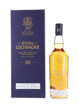 Royal Lochnagar 1988 30 Year Old - Bottle Number 006