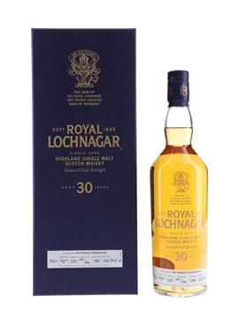 Royal Lochnagar 1988 30 Year Old - Bottle Number 019