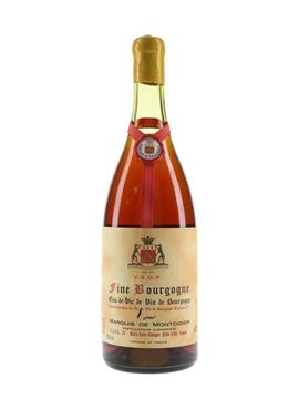 Marquis de Montdidier 1897 VSOP Eau De Vie De Bourgogne