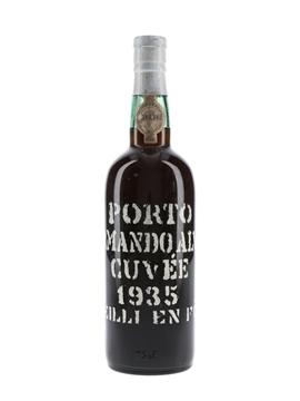 Armando Alves Cuvee 1935 Colheita Port