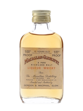 Macallan 15 Year Old 100 Proof