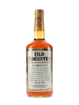Old Forester 4 Year Old