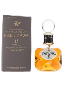 Karuizawa 15 Year Old Straight Malt Bottled 1985-1990 10cl / 43%