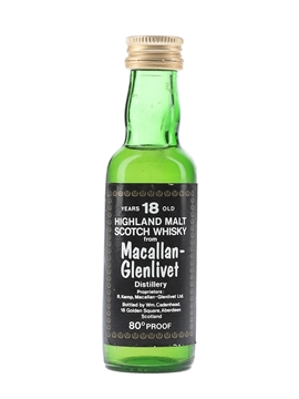 Macallan Glenlivet 18 Year Old
