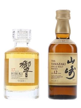 Hibiki 17 Year Old & Yamazaki 12 Year Old