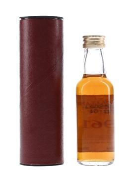 Macallan 1961 Fine & Rare  5cl / 54.1%