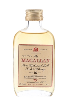 Macallan 10 Year Old Gordon & MacPhail