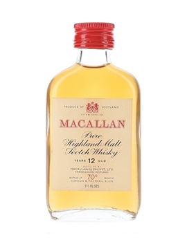 Macallan 12 Year Old 70 Proof