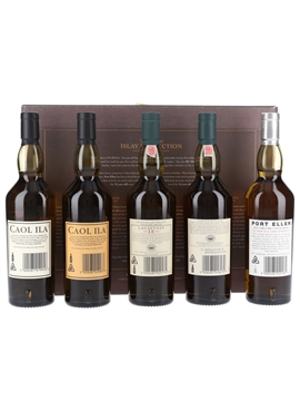 The Classic Islay Collection Set Caol Ila, Lagavulin & Port Ellen 5 x 20cl