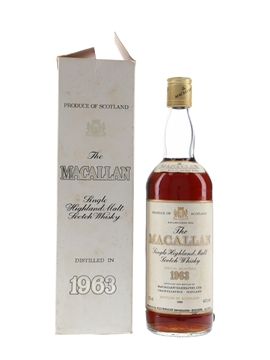 Macallan 1963